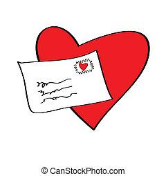 forelskelse brev