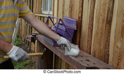 foreman climb ladder