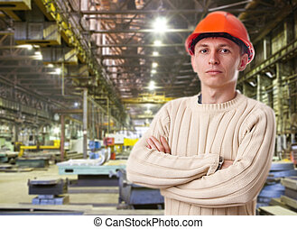 Foreman in the workshop