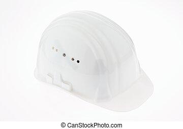 foreman of a construction helmet