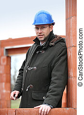 foreman on construction site