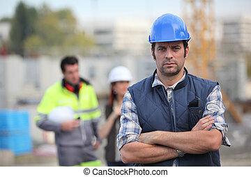 Foreman on site