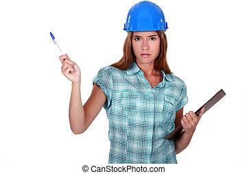 foreman., vrouwlijk