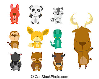 Forest Animal Set