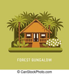 Forest bungalow