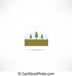 forest eco icon