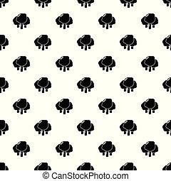 Forest pattern vector seamless