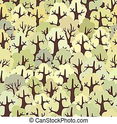 forest., seamless, fondo