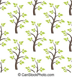 forest seamless isolated