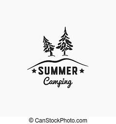 Forest Summer Camp Badge