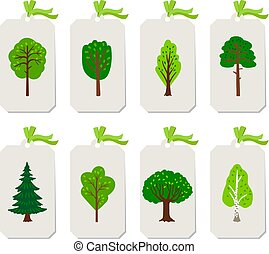 Forest tree tags