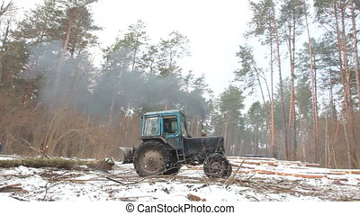 Forest Tree Tractor
