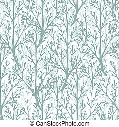 Forest trees texture seamless pattern background