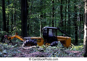 forest working machine