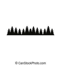 foresta albero, paesaggio