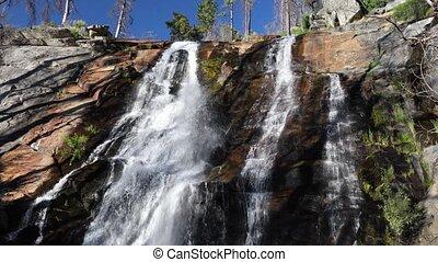 Foresta Falls in Yosemite Loop - Seamlessly looping footage...