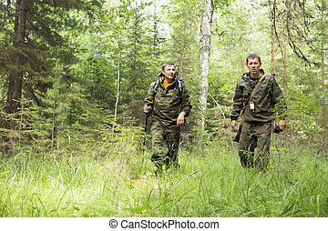 foresters, forest., patrullar