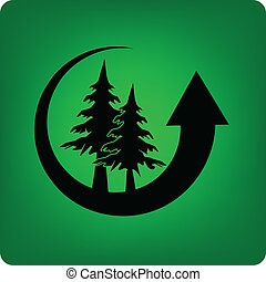 Forestry - Recycling forest