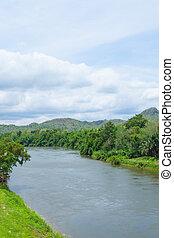 forests., recurso, adyacente, ríos