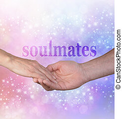 Forever my Soulmate - Man gently holding female hand with ...