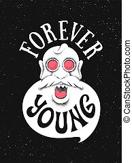 Forever Young poster with the grandfather