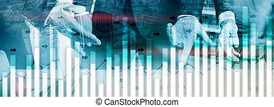 forex, ビジネス 人々, 投資, 成長, city., 分析, 背景, 経済, 抽象的, 財政, 現代, 取引