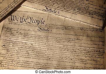 forfatning, os