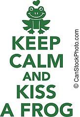forg, calma, bacio, custodire