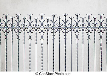 Forged decorative fence