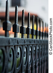 Forget iron fence