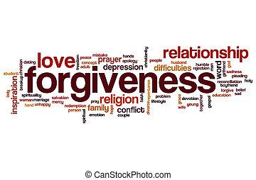 Forgiveness word cloud