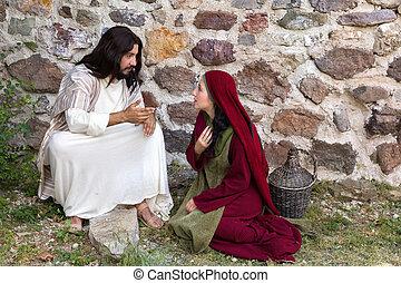forgiving, jésus, pécheur