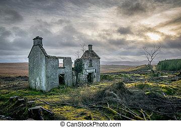 Forgotten Irish Farm House