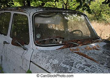 Forgotten old car
