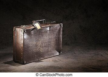 Forgotten suitcase