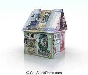 forint house illustration