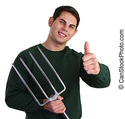 Fork guy