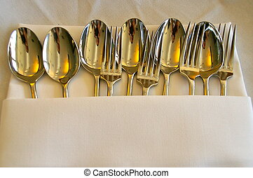 Fork & Spoon #3 - table setting