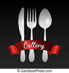 fork spoon knife cutlery symbol