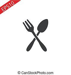 Fork & Spoon Restaurant Icon
