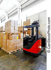 Forklift boxes