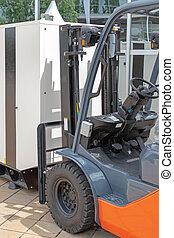 Forklift Heavy Load