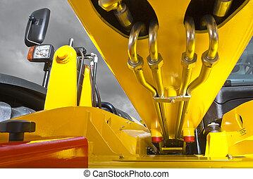 Forklift hydraulics