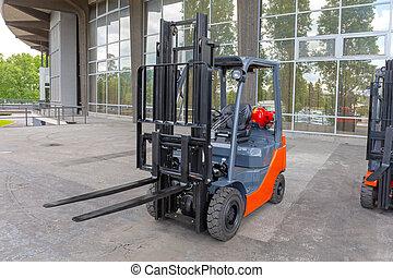 Forklift Outside