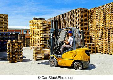 Forklift pallet