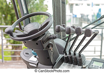 Forklift Wheel Cabin