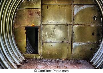forladt, bunker