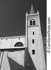 Forli (Italy): Santissima Trinita church - Forli (Emilia...