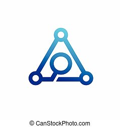 formé, atome, lettre, logo