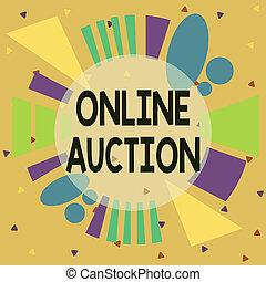 formé, auction., modèle, ligne, design., services, processus, texte, vente, signification, marchandises, écriture, contour, multicolour, format, objet, achat, inégal, asymétrique, concept, ou